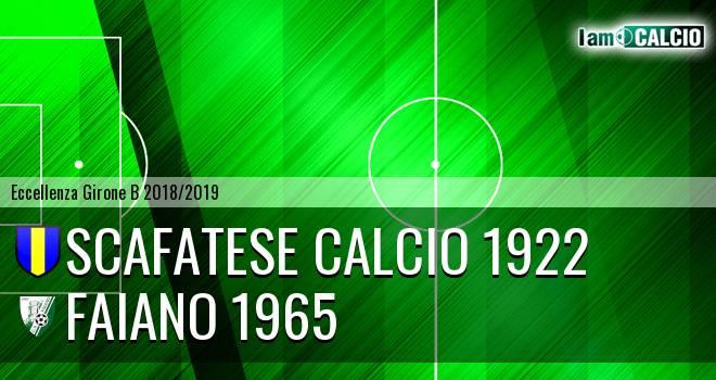 Scafatese Calcio 1922 - Faiano 1965