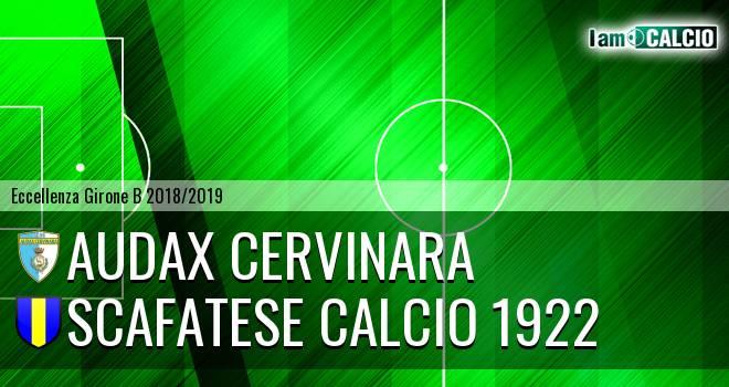Audax Cervinara - Scafatese Calcio 1922