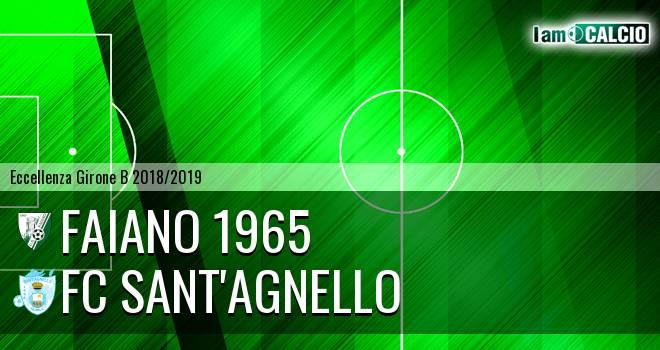 Faiano 1965 - FC Sant'Agnello