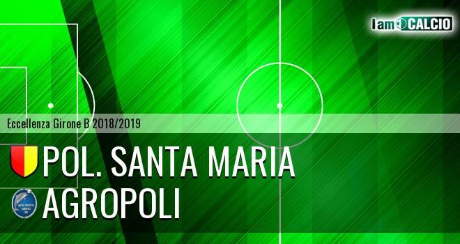 Pol. Santa Maria - Agropoli