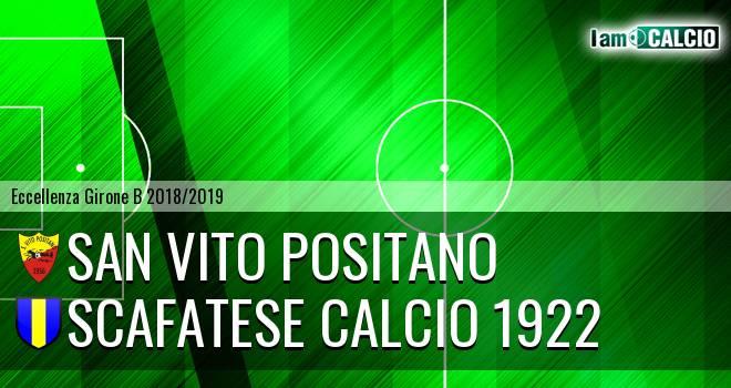 San Vito Positano - Scafatese Calcio 1922