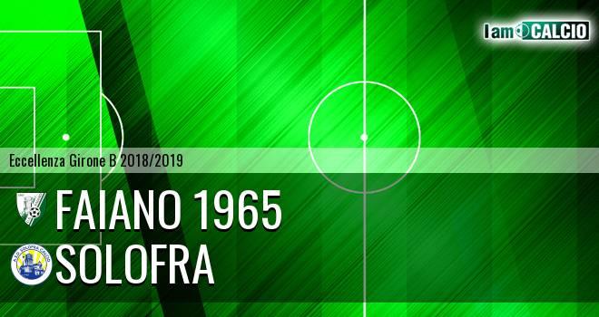 Faiano 1965 - Solofra