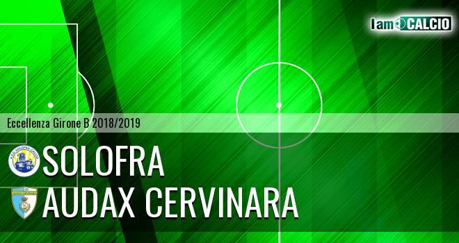 Solofra - Audax Cervinara