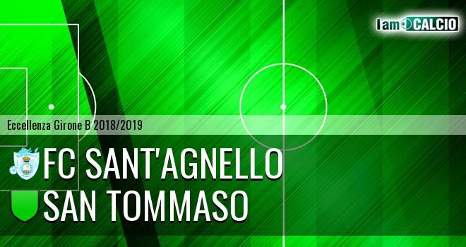 FC Sant'Agnello - San Tommaso