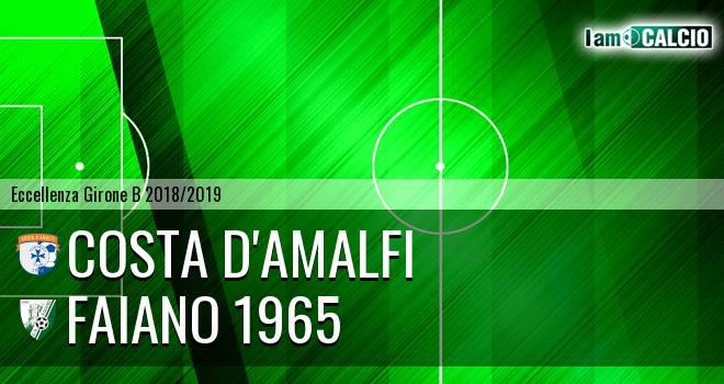 Costa d'Amalfi - Faiano 1965 0-0. Cronaca Diretta 16/03/2019