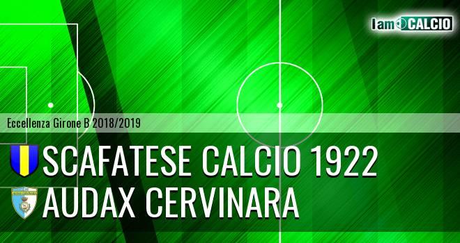Scafatese Calcio 1922 - Audax Cervinara