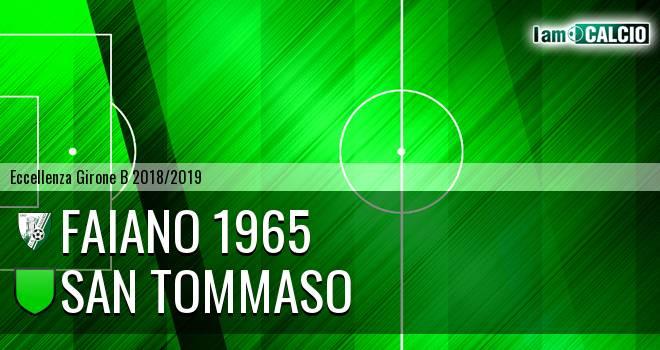 Faiano 1965 - San Tommaso