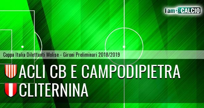 Acli Cb e Campodipietra - Cliternina