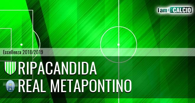 Ripacandida - Real Metapontino