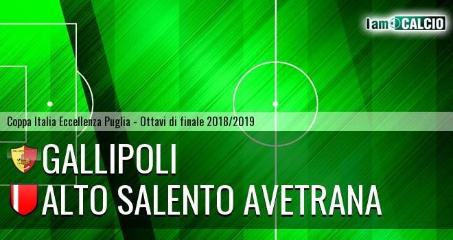 Gallipoli - Avetrana Calcio