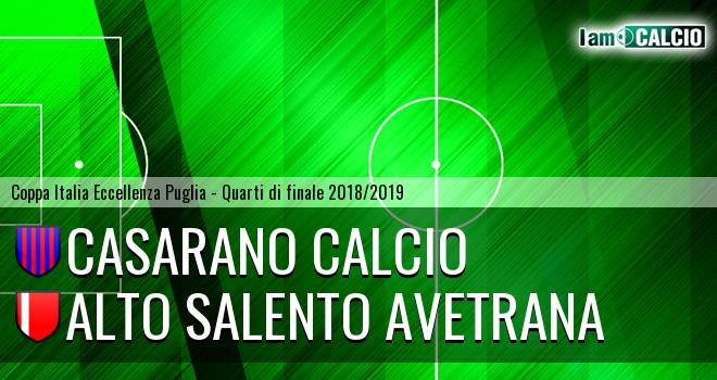 Casarano Calcio - Avetrana Calcio