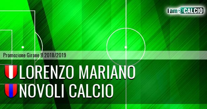De Cagna 2010 - Novoli Calcio