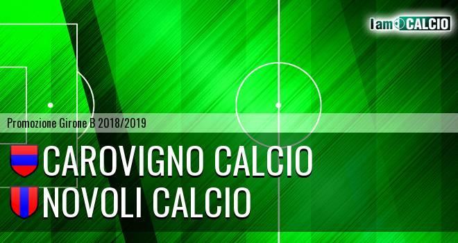 Carovigno Calcio - Novoli Calcio
