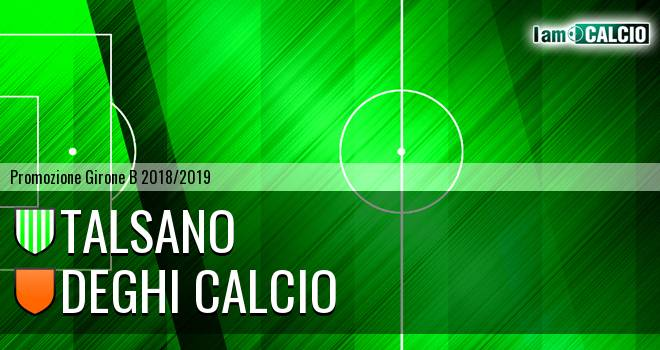Talsano - Deghi Calcio