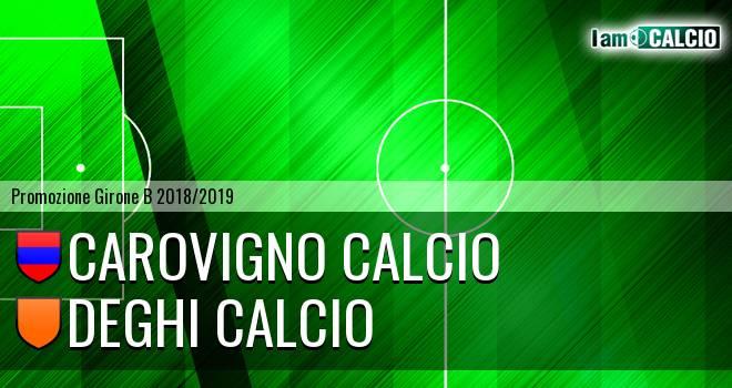 Carovigno Calcio - Deghi Calcio