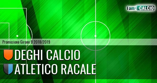 Deghi Calcio - Atletico Racale