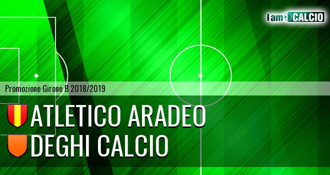 Atletico Aradeo - Deghi Calcio