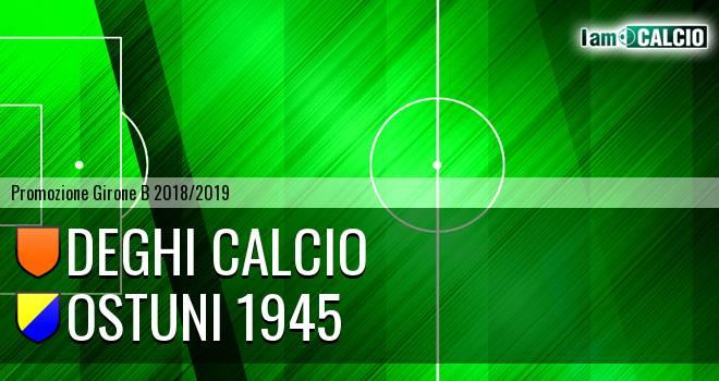 Deghi Calcio - Ostuni 1945