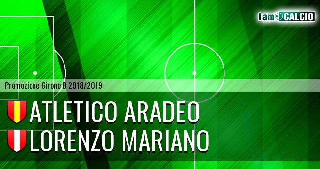 Atletico Aradeo - Lorenzo Mariano
