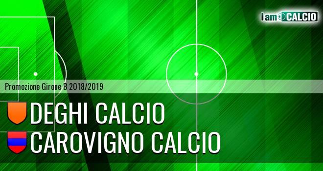 Deghi Calcio - Carovigno Calcio