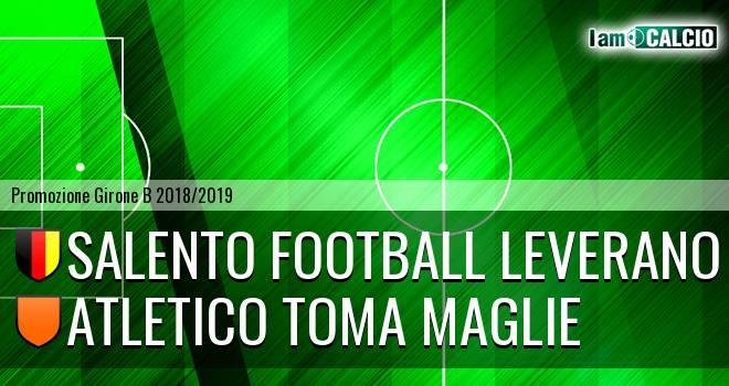 Salento Football Leverano - Atletico Toma Maglie