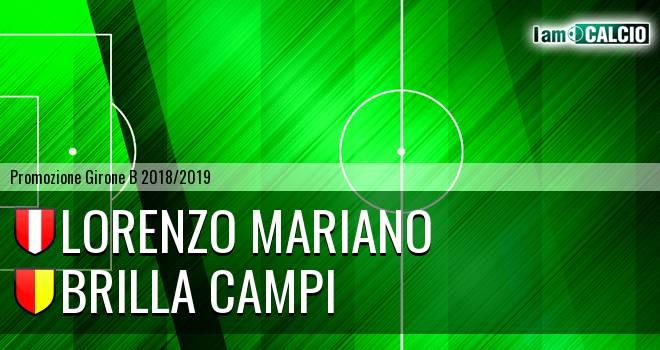 Lorenzo Mariano - Brilla Campi