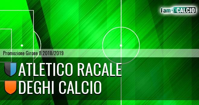 Atletico Racale - Deghi Calcio