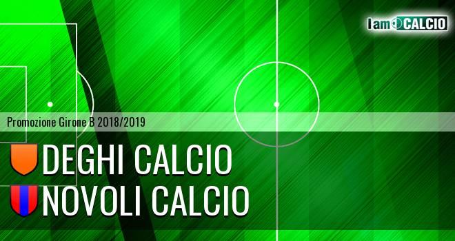 Deghi Calcio - Novoli Calcio