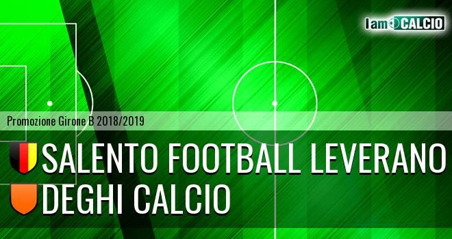 Salento Football Leverano - Deghi Calcio