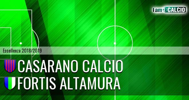 Casarano Calcio - Fortis Altamura