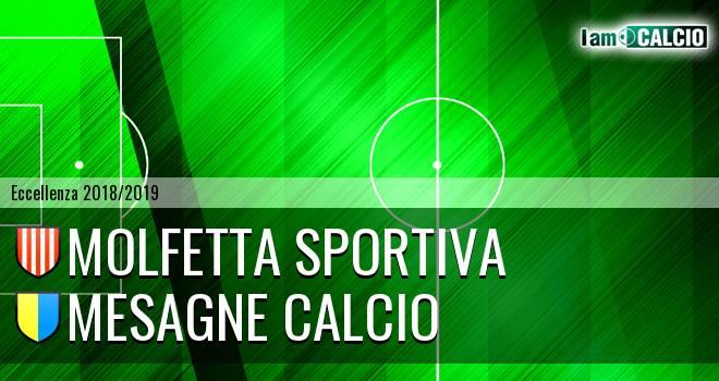 Molfetta Sportiva - Mesagne Calcio