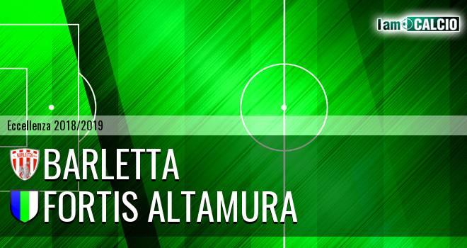 Barletta - Fortis Altamura