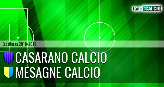 Casarano Calcio - Mesagne Calcio