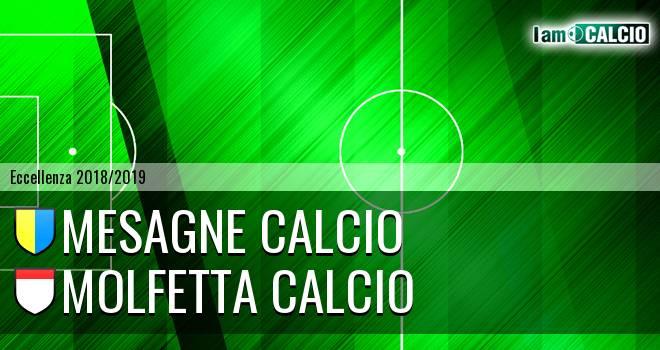 Mesagne Calcio - Molfetta Calcio