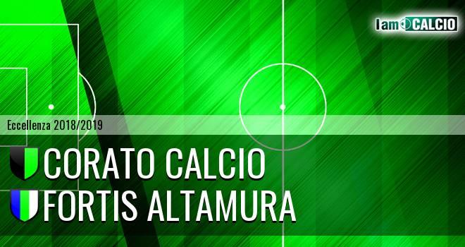 Corato Calcio - Fortis Altamura