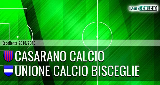 Casarano Calcio - Unione Calcio Bisceglie