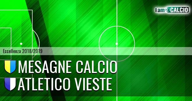 Mesagne Calcio - Atletico Vieste