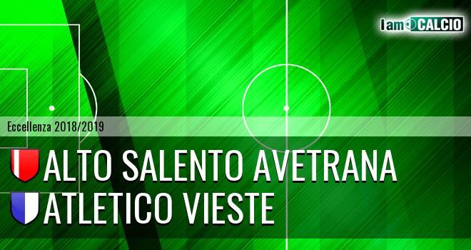 Alto Salento Avetrana - Atletico Vieste
