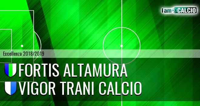 Fortis Altamura - Vigor Trani Calcio