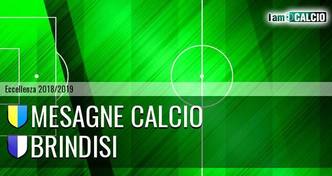 Mesagne Calcio - Brindisi