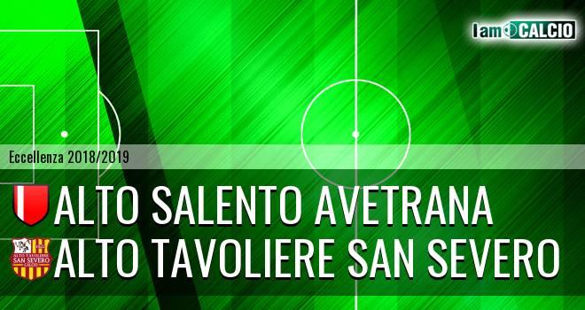 Avetrana Calcio - San Severo Calcio