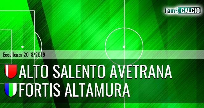 Alto Salento Avetrana - Fortis Altamura
