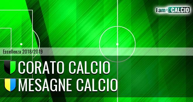 Corato Calcio - Mesagne Calcio