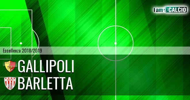 Gallipoli - Barletta 0-1. Cronaca Diretta 18/11/2018