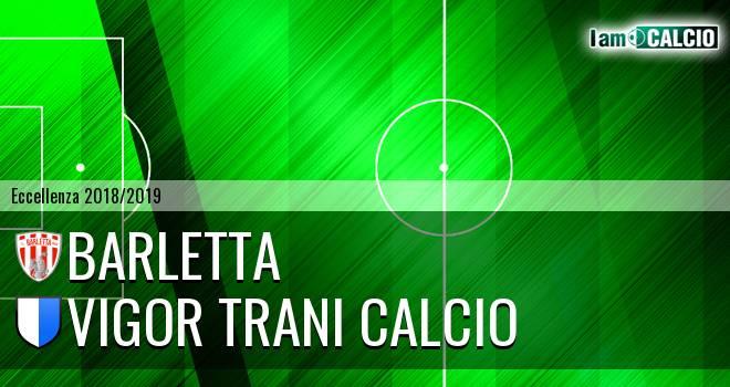 Barletta - Vigor Trani Calcio 1-0. Cronaca Diretta 25/11/2018