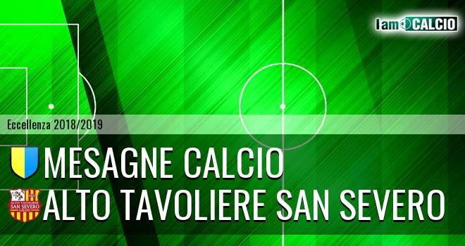 Mesagne Calcio - Alto Tavoliere San Severo