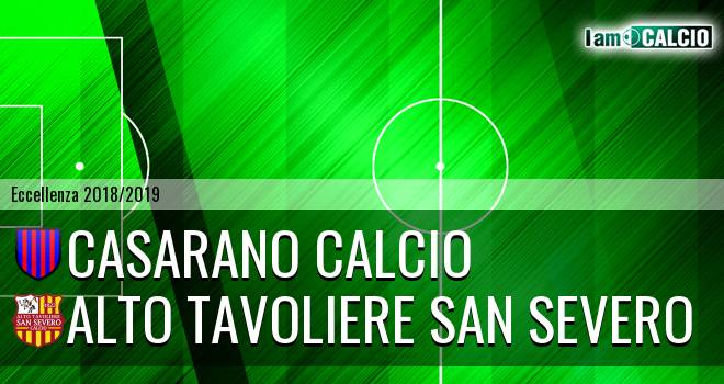 Casarano Calcio - Alto Tavoliere San Severo