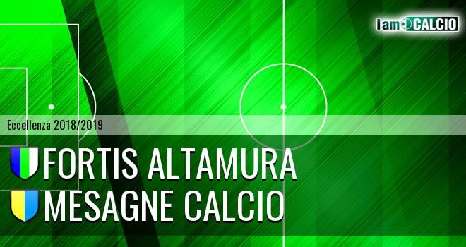 Fortis Altamura - Mesagne Calcio