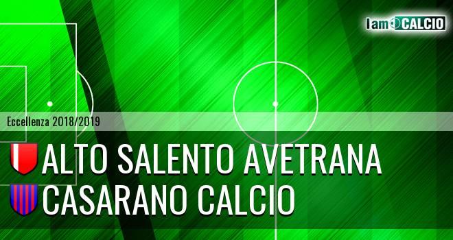 Alto Salento Avetrana - Casarano Calcio