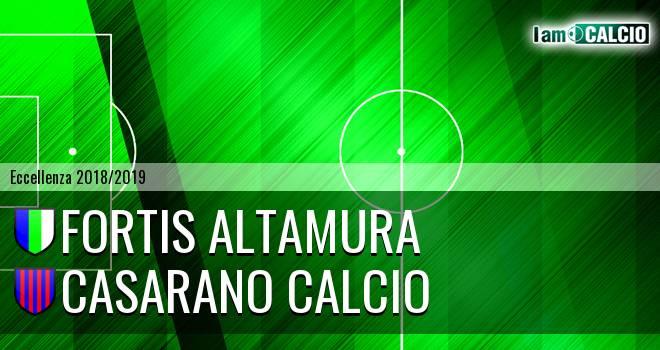 Fortis Altamura - Casarano Calcio